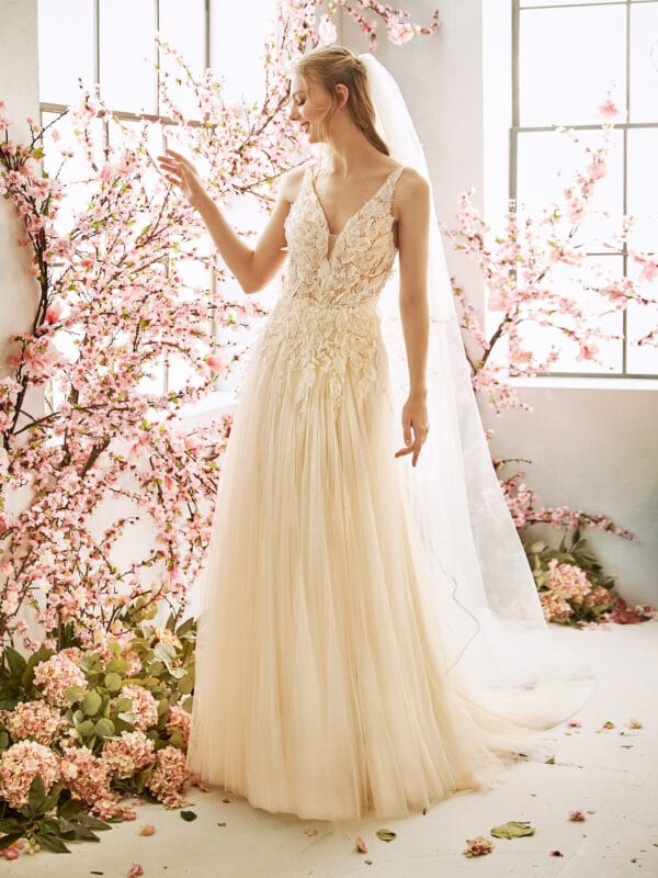 romantische trouwjurk amiga bruidsmode
