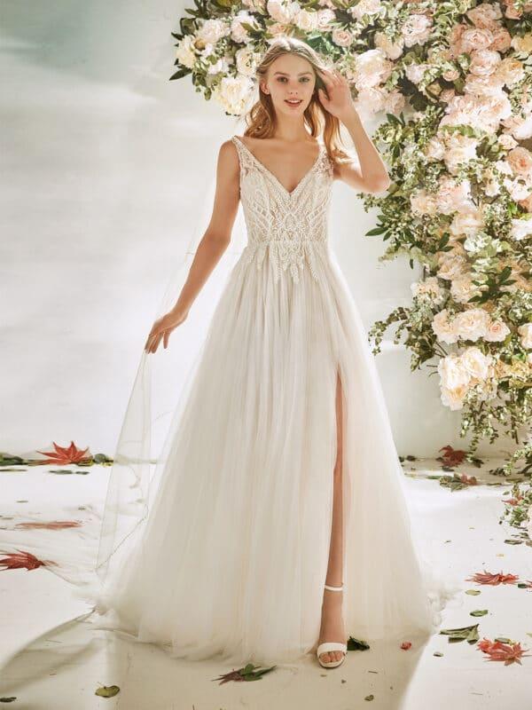 flora lasposa amiga bruidsmode