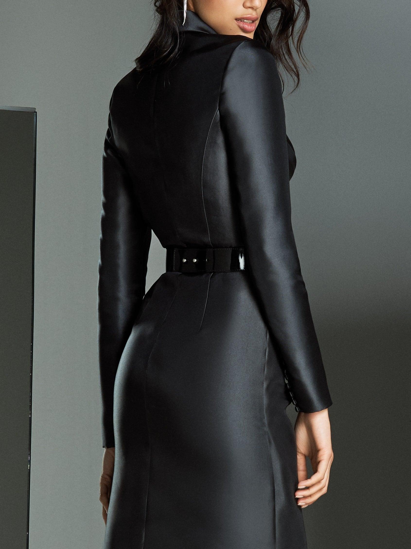 zwarte avond kleding