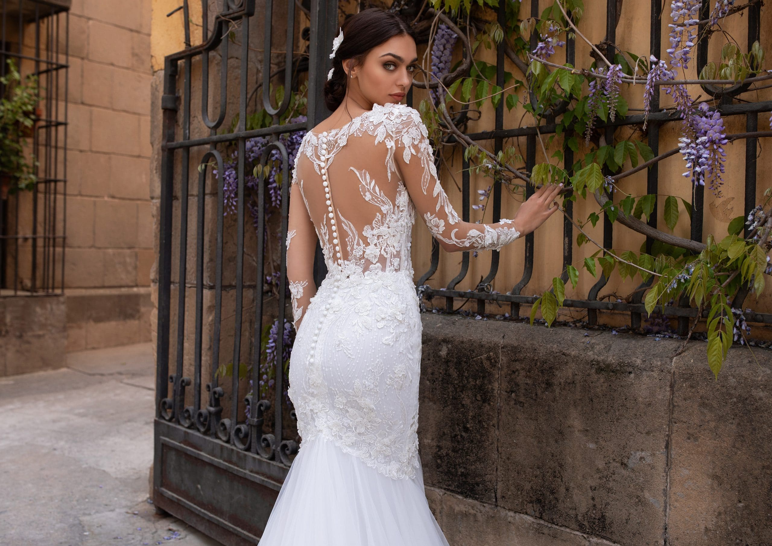 trouwjurk amiga DIONE pronovias mermaid