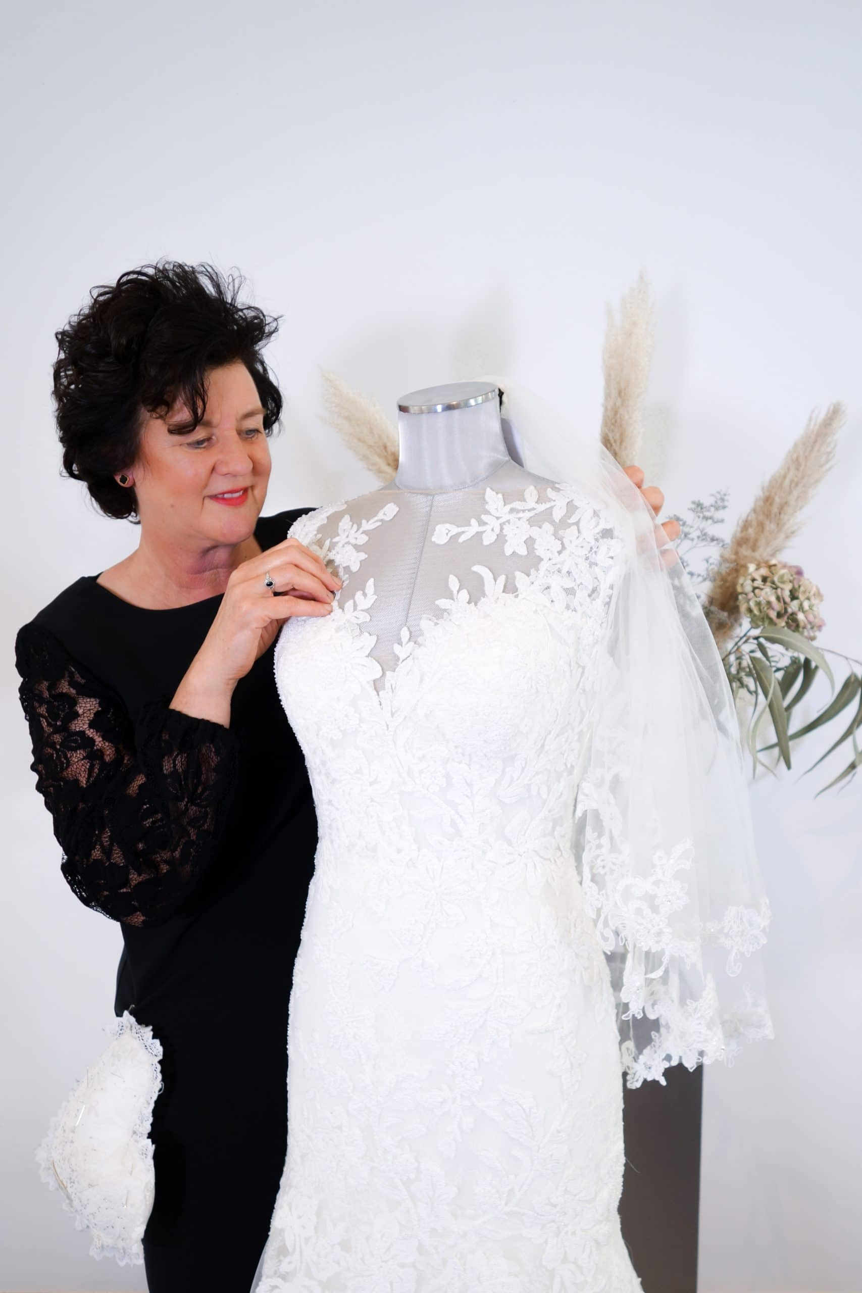 coupeuse bruidsmode