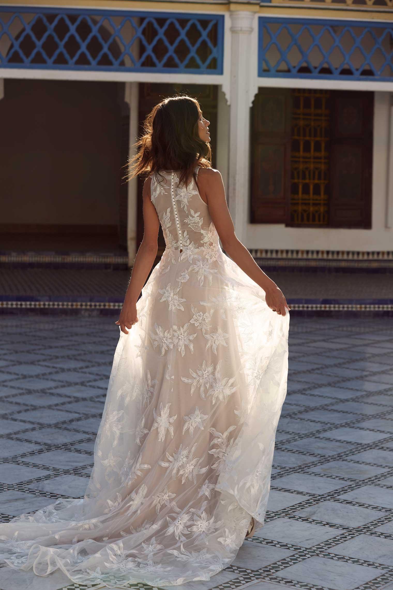 April wedding dress Madi Lane