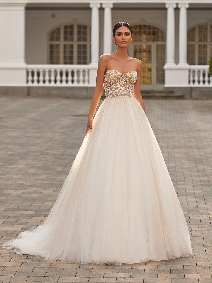 prinsessen trouwjurk pronovias