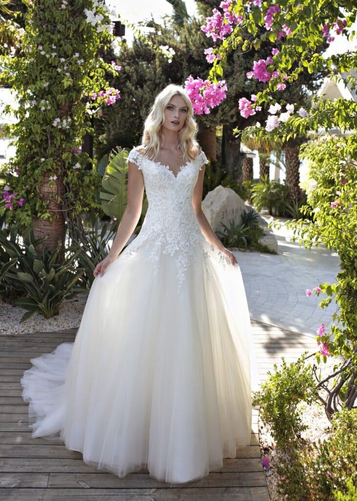 Prinsessen trouwjurk