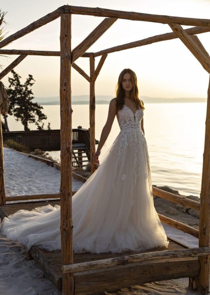 romantische trouwjurk